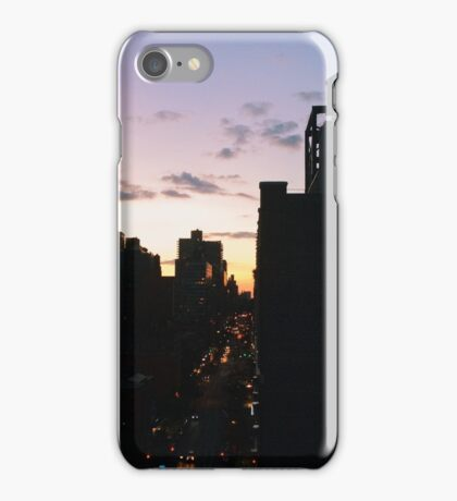 Rooftop Sunsets iPhone Case/Skin