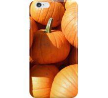 Pumpkins for Halloween iPhone Case/Skin