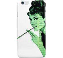 Audrey Hepburn an03 iPhone Case/Skin