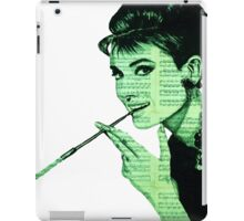 Audrey Hepburn an03 iPad Case/Skin