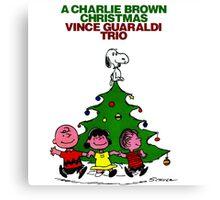 CHARLIE BROWN CHRISTMAS 9 Canvas Print