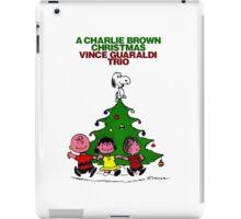 CHARLIE BROWN CHRISTMAS 9 iPad Case/Skin