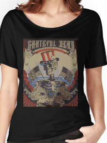 Grateful Dead - American Skeleton  Women's Relaxed Fit T-Shirt