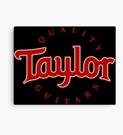 TAYLOR GUITARs CALSSIC Canvas Print