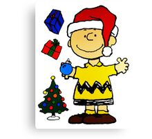 CHARLIE BROWN CHRISTMAS 10 Canvas Print