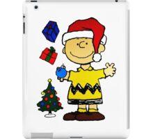 CHARLIE BROWN CHRISTMAS 10 iPad Case/Skin