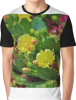 Prickly Pear Cactus Graphic T-Shirt