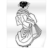 Japanese Dress Poster