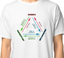 The Rock Cycle Geology Classic T-Shirt