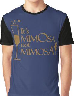 Wingardium MimOsa - Blue/Bronze Graphic T-Shirt
