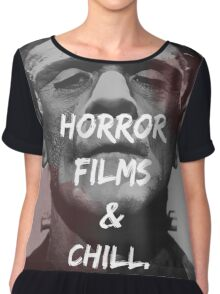 Horror Lover Chiffon Top