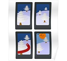 Winter in 4 Pictures Poster