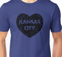 I Love Kansas City - I Heart KC (Urban) Unisex T-Shirt