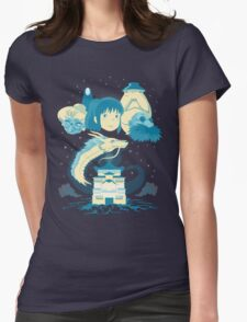 A Spirited Story Womens Fitted T-Shirt