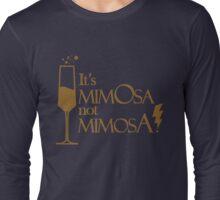 Wingardium MimOsa - Blue/Bronze Long Sleeve T-Shirt