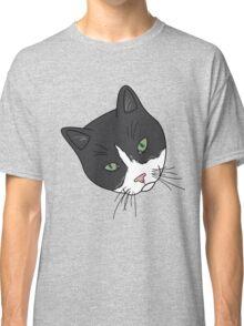 Green Eyed Tuxedo Classic T-Shirt