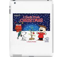 CHARLIE BROWN CHRISTMAS 12 iPad Case/Skin