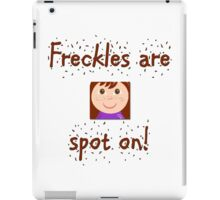 Freckles iPad Case/Skin