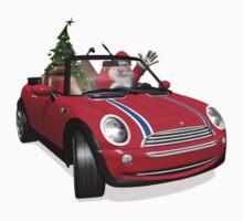 Santa Claus In Mini Kids Clothes