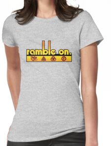 Ramble On Womens Fitted T-Shirt