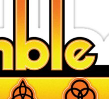 Ramble On Sticker