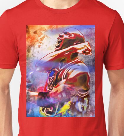 Michael Jordan Painted Unisex T-Shirt