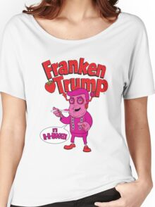 Donald Trump Monster Cereal Franken Trump RIGGED T-shirt Women's Relaxed Fit T-Shirt