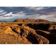 Namibian Desert Landscape Photographic Print