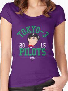 Pilot 01 Women's Fitted Scoop T-Shirt