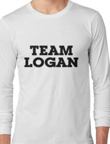 Team Logan Long Sleeve T-Shirt