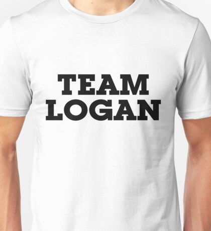 Team Logan Unisex T-Shirt