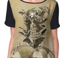 The Tea Bats Lenormand - Woman Chiffon Top