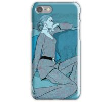 Blue Motel Room iPhone Case/Skin