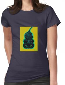 Yellow Tiki Womens Fitted T-Shirt