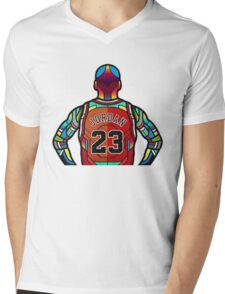 Michael Jordan Mens V-Neck T-Shirt
