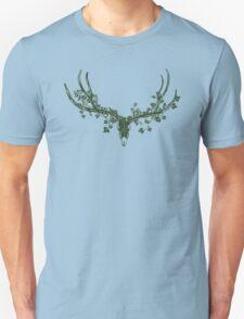 Deer Skull Paper-Cut T-Shirt