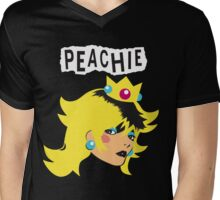 Just Peachie Mens V-Neck T-Shirt