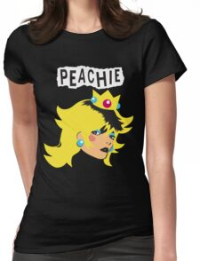 Just Peachie Womens Fitted T-Shirt