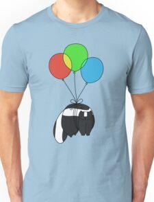 Balloon Skunk Unisex T-Shirt