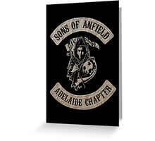 Sons of Anfield - Adelaide Chapter Greeting Card