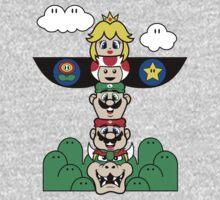 Mushroom Totem One Piece - Long Sleeve