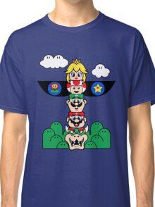 Mushroom Totem Classic T-Shirt