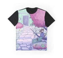 Nuclear Jackal relaxing in the garden Graphic T-Shirt