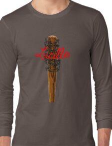 Lucille Barb Wire Baseball Bat T-Shirt Long Sleeve T-Shirt