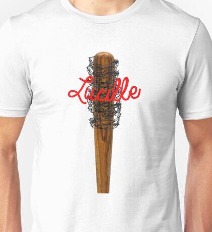 Lucille Barb Wire Baseball Bat T-Shirt Unisex T-Shirt