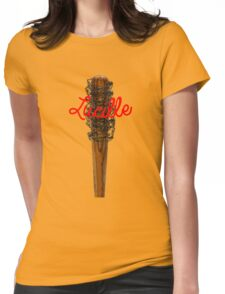 Lucille Barb Wire Baseball Bat T-Shirt Womens Fitted T-Shirt