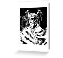GERONIMO (1888) Greeting Card