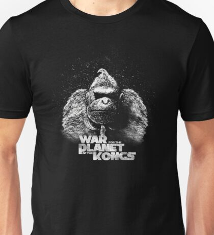 Wra for the planet of the Kongs Unisex T-Shirt