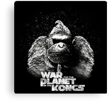 Wra for the planet of the Kongs Canvas Print