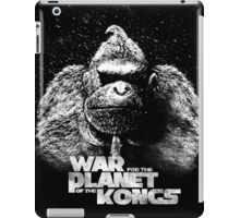 Wra for the planet of the Kongs iPad Case/Skin